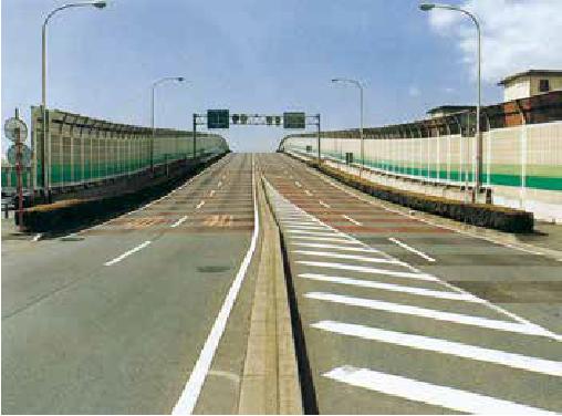 習志野市都市計画道路3・3・3ふれあい橋 上部工