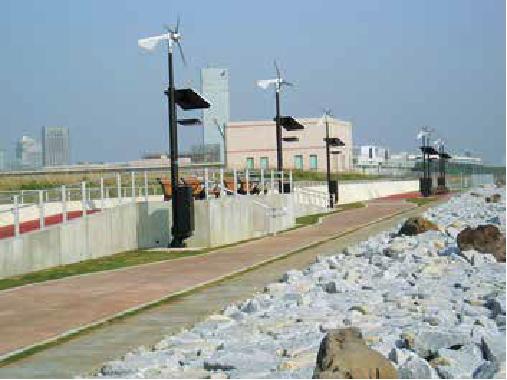千葉港都市海岸高度化工事(幕張の浜)